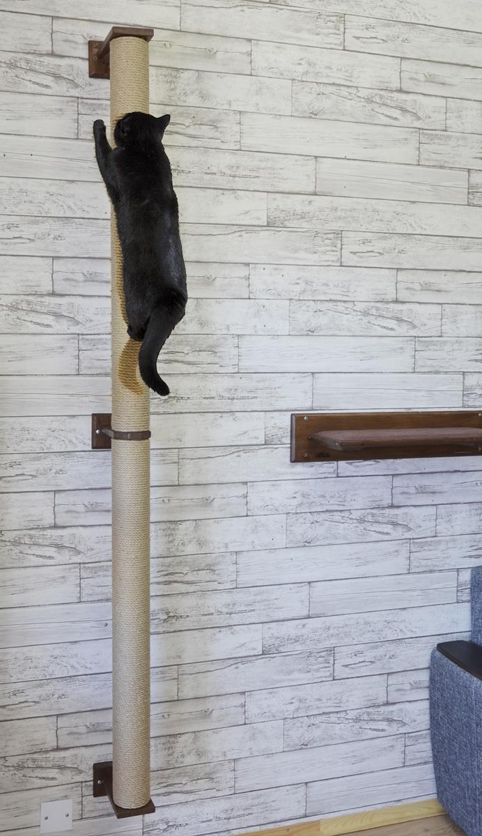 когтеточка для кошек на стену 2 метра