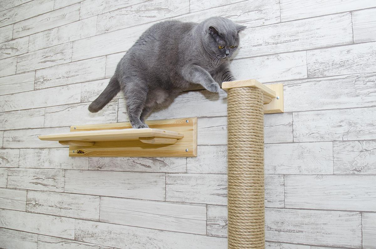 столбик до потолка