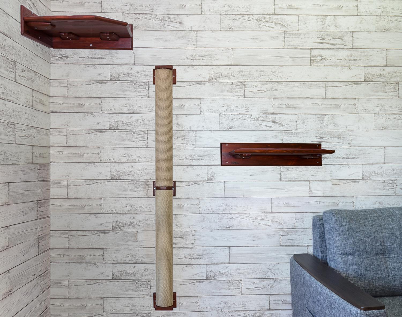 когтеточка труба до потолка